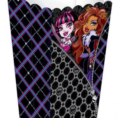 Monster High Plastic Favor Container
