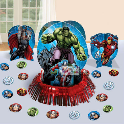 Avengers Party Theme Table Decorating Kit - Party Buzz Party Supplies
