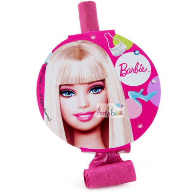 Barbie Birthday Party Blowouts Pack of 8 - Party Buzz Party Supplies