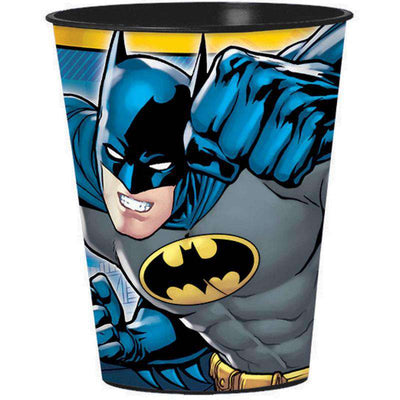 Batman Birthday Party 1 Large Plastic Keepsake Favor Cup - Party Buzz Party Supplies
