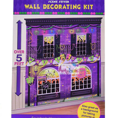 New Years Mardi Gra Party Decoration Scene Setter Kit - Party Buzz Party Supplies