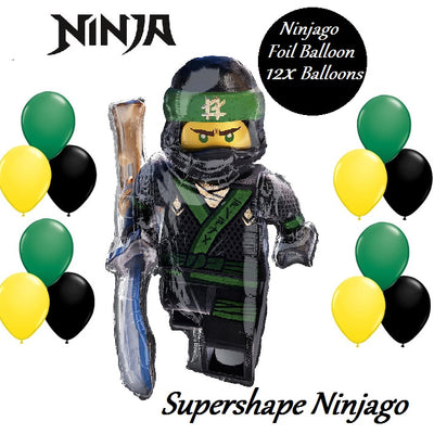 Lego Ninjago Lloyd Kids Supershape Foil Birthday Party Balloon