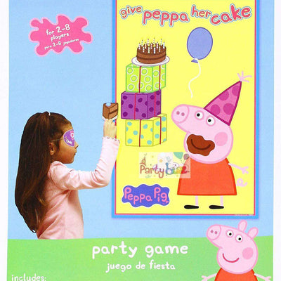 Peppa Pig Birthday Party Game Give Peppa Cake - Party Buzz Party Supplies