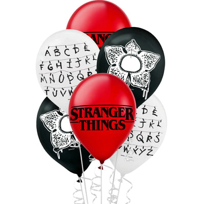 Stranger Things Horror Birthday Party Supplies 1, 6 or 12 Decoration Balloons