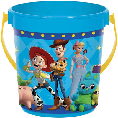 Toy Story 4 Birthday Party Favor Treat Bucket - Party Buzz Party Supplies