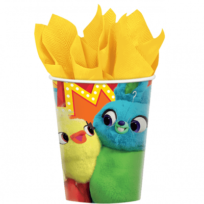 Toy Story 4 Birthday Party Cups Pack of 8 - Party Buzz Party Supplies