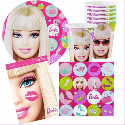 Barbie Birthday Party 40 Piece Pack for 8 Guests