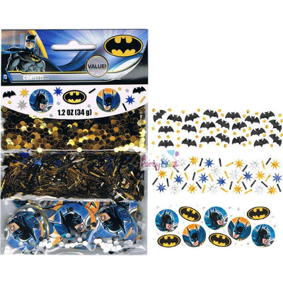 Batman Party Supplies Table Confetti Decorations - Party Buzz Party Supplies