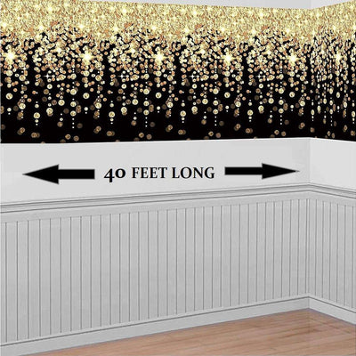 Glitz & Glam 1920's Gatsby Gangster Party Hanging Wall Decoration. - Party Buzz Party Supplies