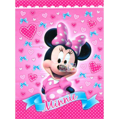 Minnie Mouse Kids Party Supplies 8 Lolly Loot Favor Bags - Party Buzz Party Supplies
