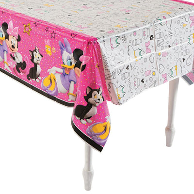 Minnie Mouse Girls Birthday Party Decoration Plastic Tablecover