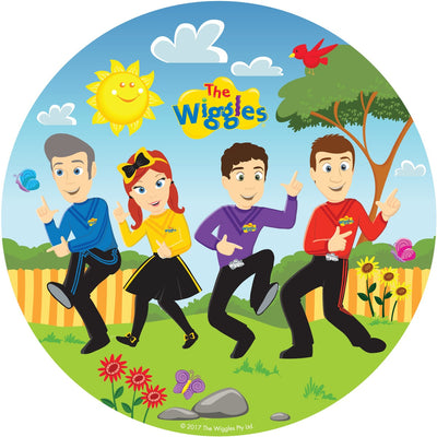 The Wiggles Kids Birthday Party Plates Pack Of 8 - Party Buzz Party Supplies