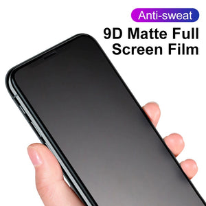 9D Matte Frosted Screen Protector for iPhone
