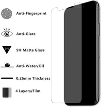 Load image into Gallery viewer, 9D Matte Frosted Screen Protector for iPhone