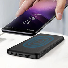 Load image into Gallery viewer, Wireless Portable Charger Power Bank 10,000 mAH
