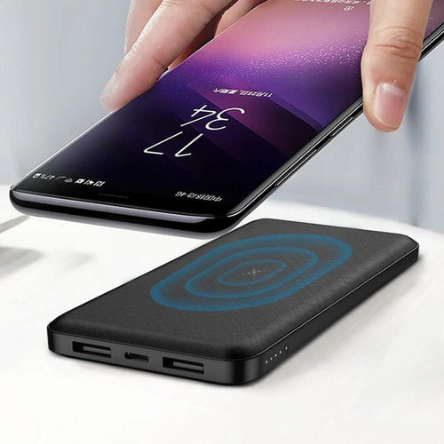 Wireless Portable Charger Power Bank 10,000 mAH