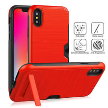 Load image into Gallery viewer, Durable and high quality iPhone case with Kickstand Back Cover