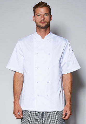 JB5CJ2 Unisex Short Sleeve Chefs Jacket