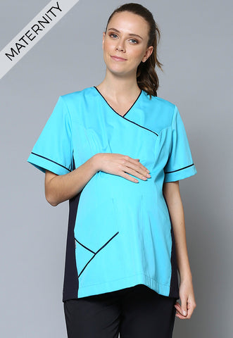 A36MAT Crossover V-Neck Maternity Tunic