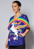 Barbie™ Unicorn Static-Free Top