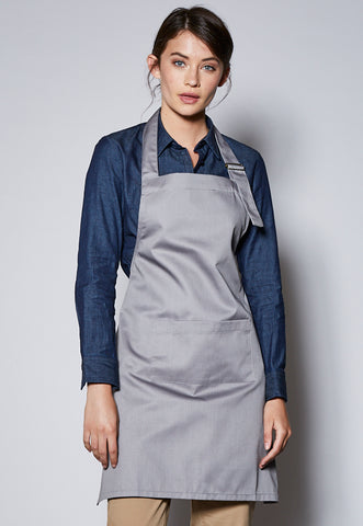 APRON Bib Apron with Neck Buckle
