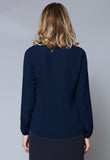 BL108 Mandarin Collar Long Sleeve Shirt