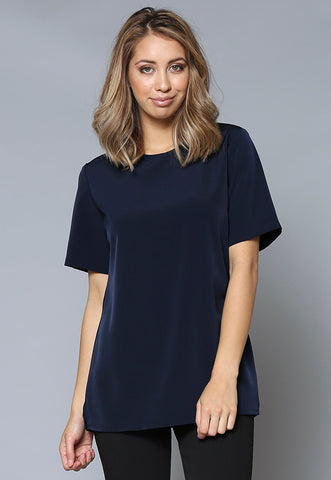 BL30032 Crew Neck Short Sleeve Tunic