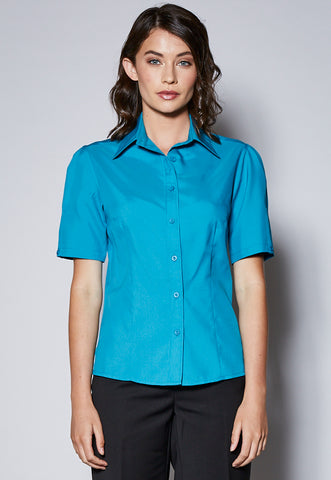 BL41CP Short Sleeve Panelled Shirt