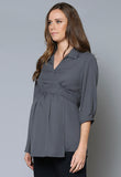 BL50MAT Maternity Wrap Top