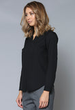 BL62 Zip Front Long Sleeve Shirt