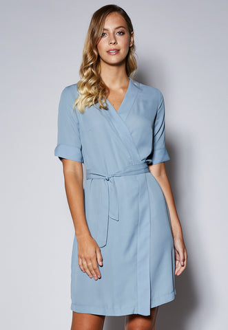 D20 V-Neck Wrap Dress
