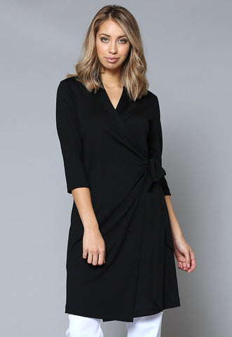 DWRAP Merino Wrap Dress