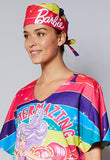 Barbie™ Rainbow Unisex Static-Free Scrub Hat