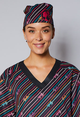Barbie™ Neon Unisex Static-Free Scrub Hat