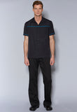 MCSD Male Casual Shirt with Chest & Sleeve Trim
