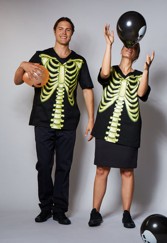 Halloween Skeleton Unisex Top