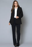 JK1000 Female Three Button Pocket Flap Jacket