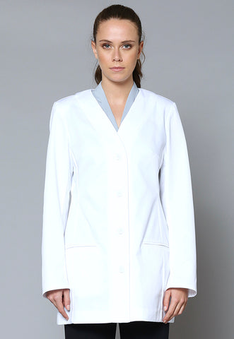 JK131LAB Female Longline Lab Jacket