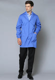 LAB1 Two Pocket Elasticated Cuff Lab Coat