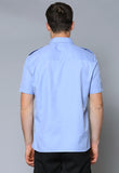 MES S/Sleeve Eppaulette Flap Pocket Shirt