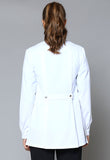 PG151L Front and Side Split Long Sleeve Jacket