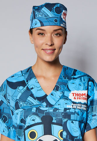 Thomas and Friends™ Tonal Unisex Static-Free Scrub Hat