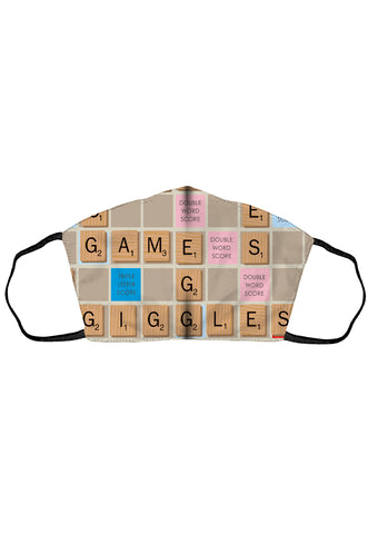 Licensed Machine Washable Face Mask – Scrabble®