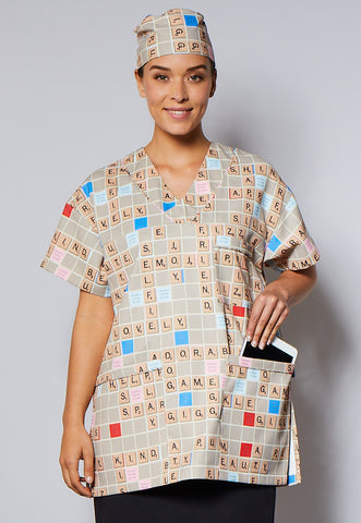 Scrabble® Board Unisex Top