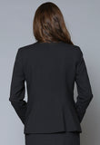 SF16020-001 Ladies Two Button Fitted Jacket