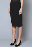 SK1000 Single Kick Pleat Stretch Suiting Skirt