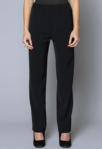 SL13 Stretch Waist Tapered Leg Corporate Pant