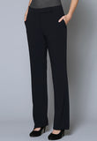 SL30120-SLIM Female Mid-Rise Belt Detail Slim Trouser