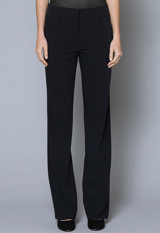 SL30130-SLIM Female Belt Loop Zip Front Trouser