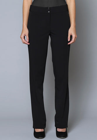 SL38 Female Seam Detail Slim Leg Trouser